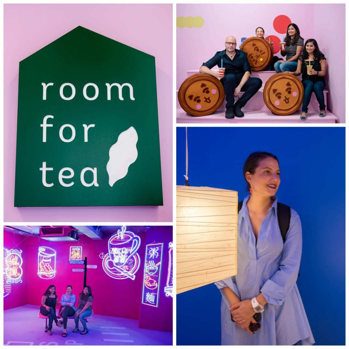 Room For Tea Collage