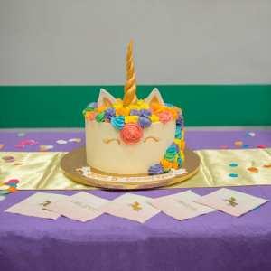 A Rainbow Unicorn Birthday