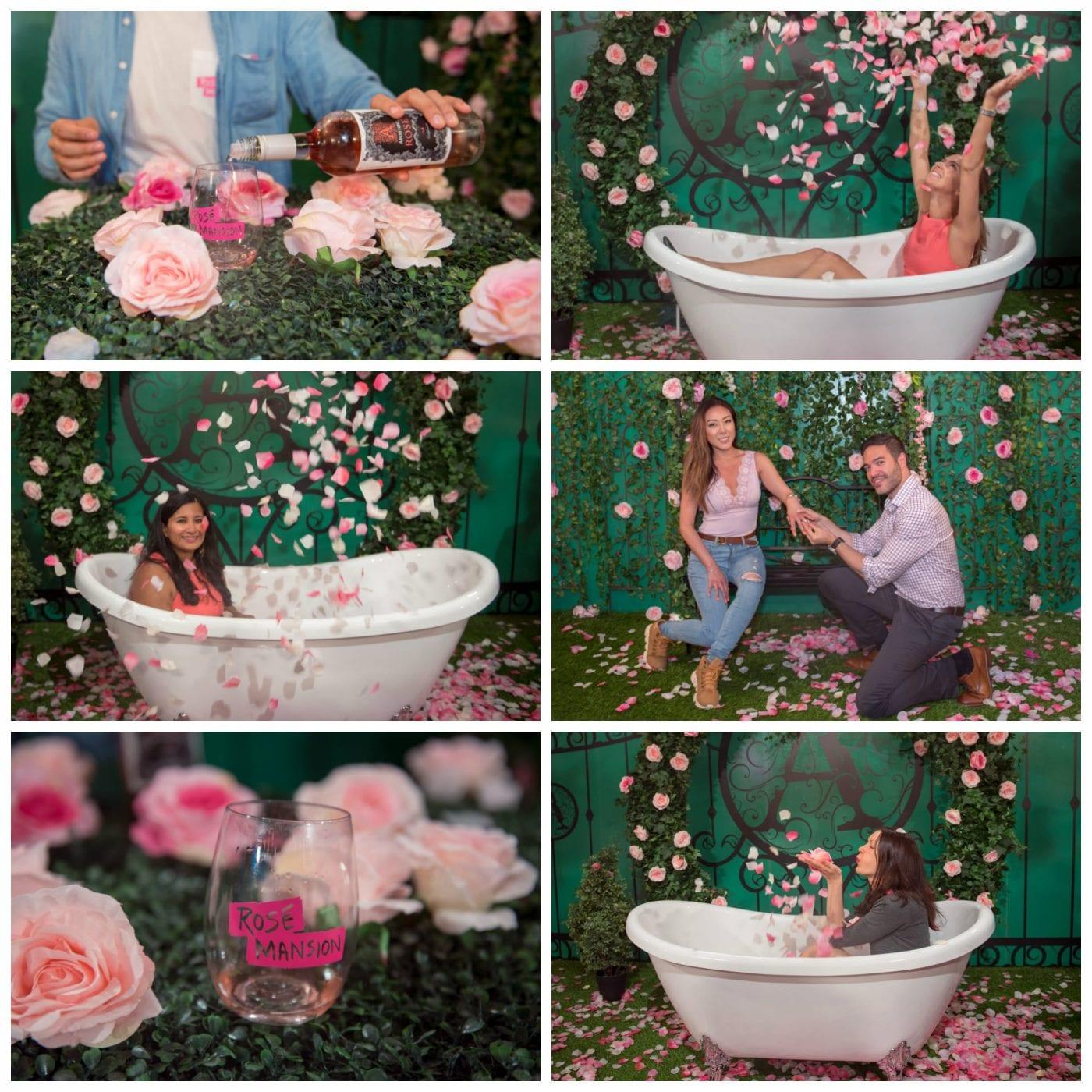 Rose Mansion Bathtub