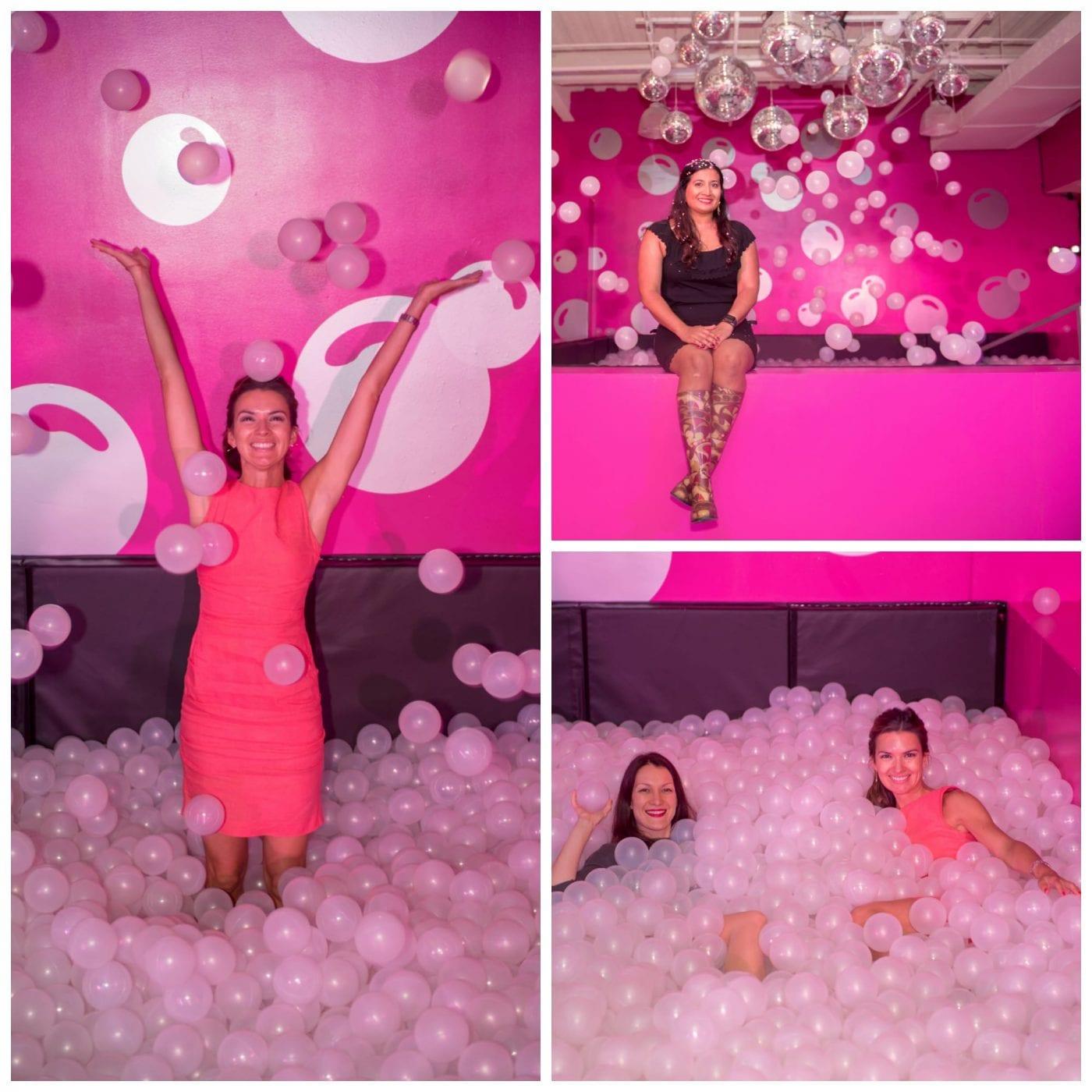Rose Mansion Bubble Pit
