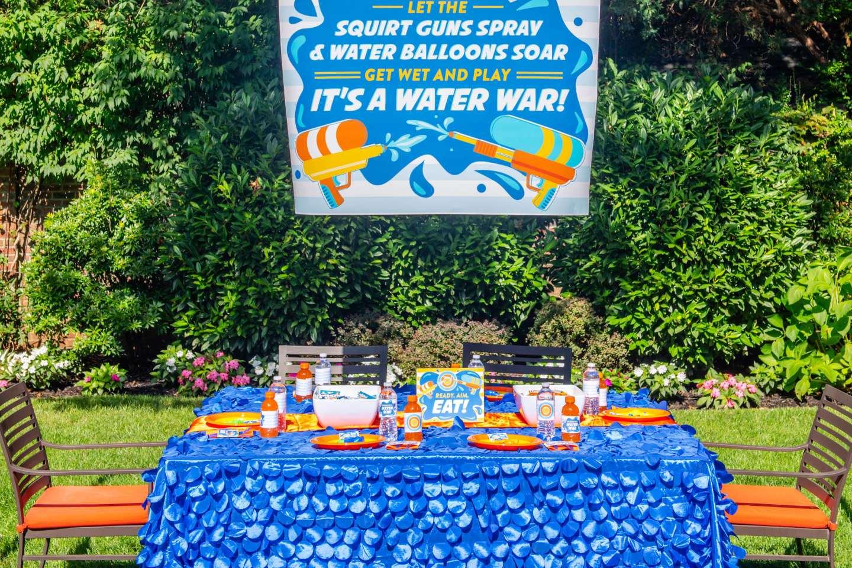 Water Wars - Tablescape