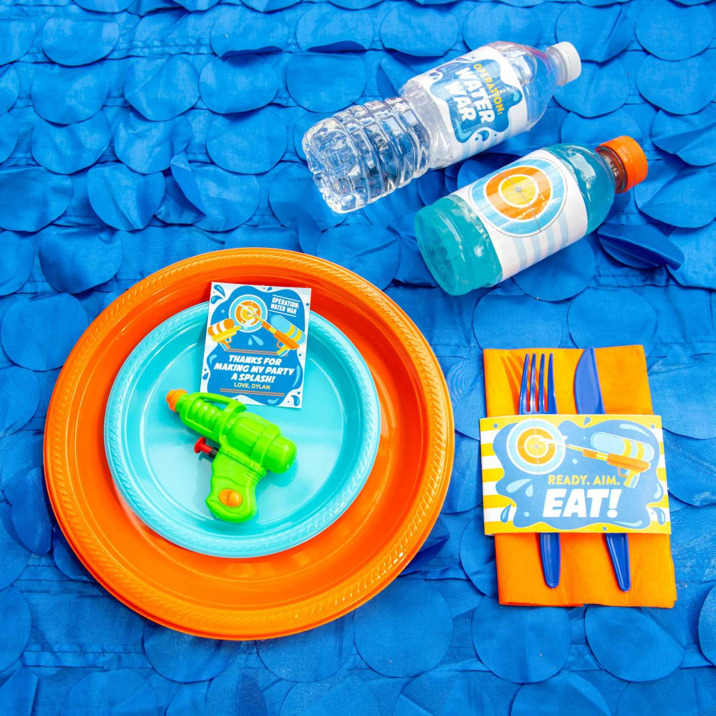 Water Wars - Place Setting
