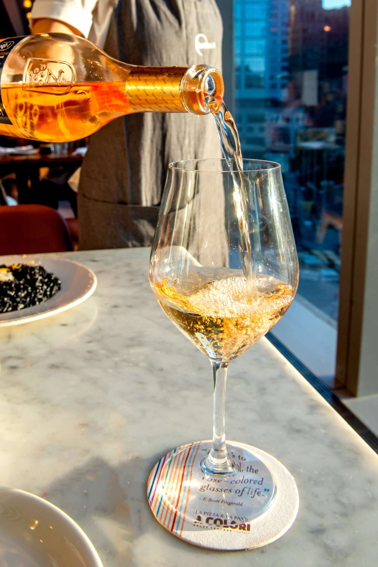 Eataly Downtown - A Colori Wine. Eataly and Color Factory.