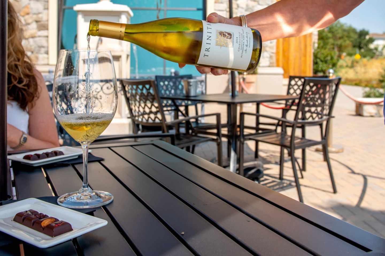 Trinitas Chardonnay.Best Napa Trip.