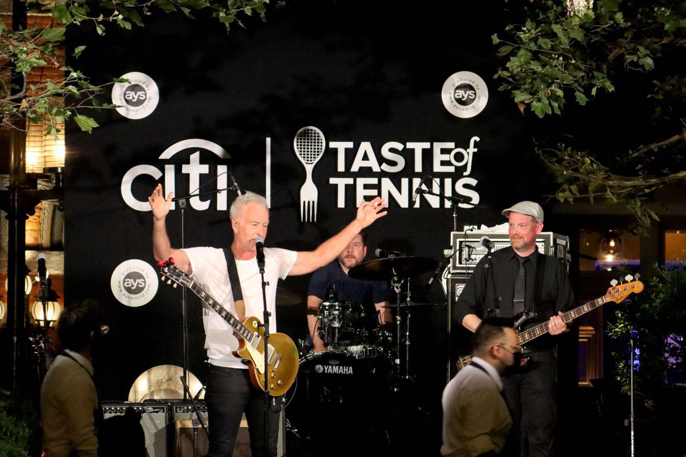 Taste of Tennis - John McEnroe Singing at Tavern on the Green