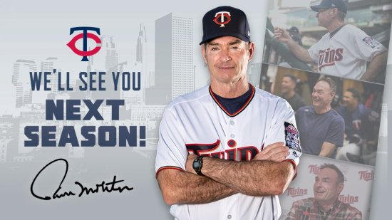Paul Molitor signs for 3 more years with the Minnesota Twins