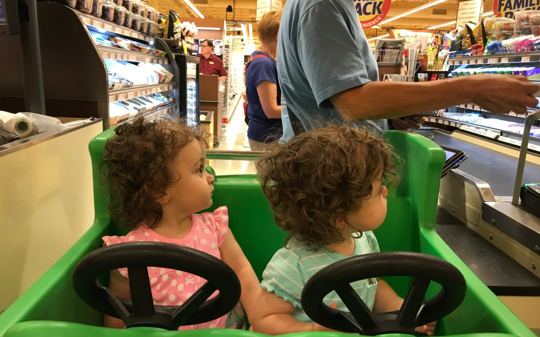 How to Shop With Twins Like a Boss