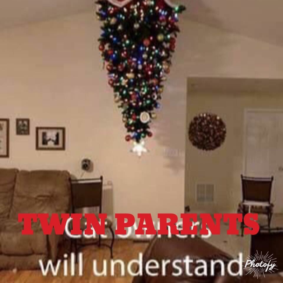 Toddler Proof Christmas Tree.Toddler Proofing Your Christmas Tree Twin Edition Gone