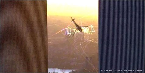Image result for spiderman twin towers trailer