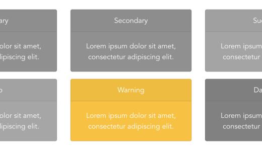 【BootstrapVueアニメーション】白黒のCardコンポーネントをhoverでクールなデザインに