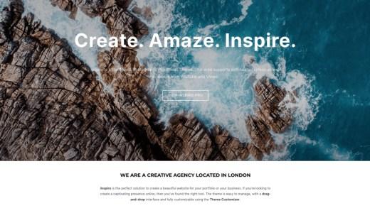無料WordPressテーマ「Inspiro」の評判・使い方・インストール方法