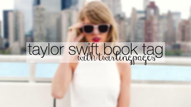 taylor swift book tag