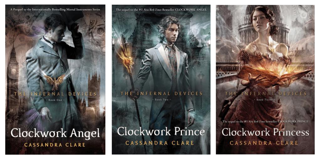the infernal devices original covers