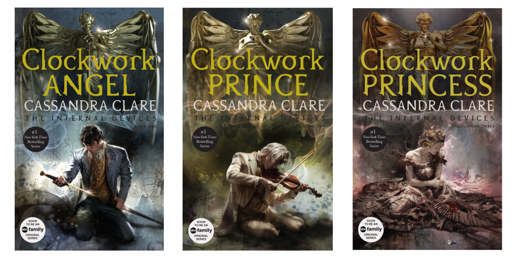 the infernal devices new covers