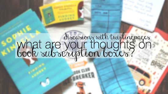 discussion - book sub boxes