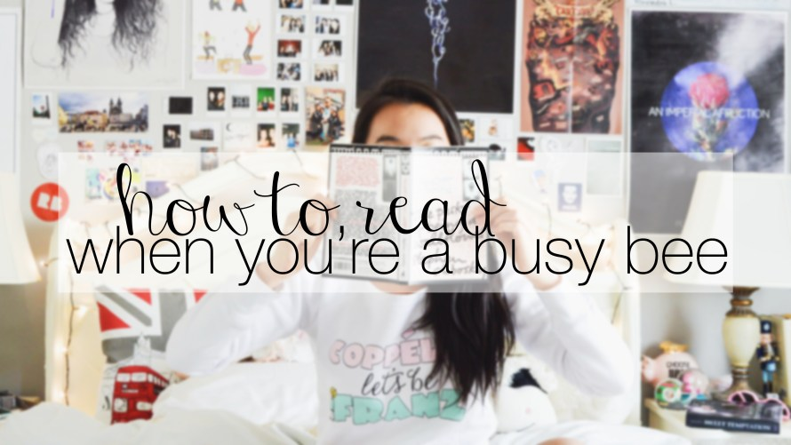 how to read when you're a busy bee