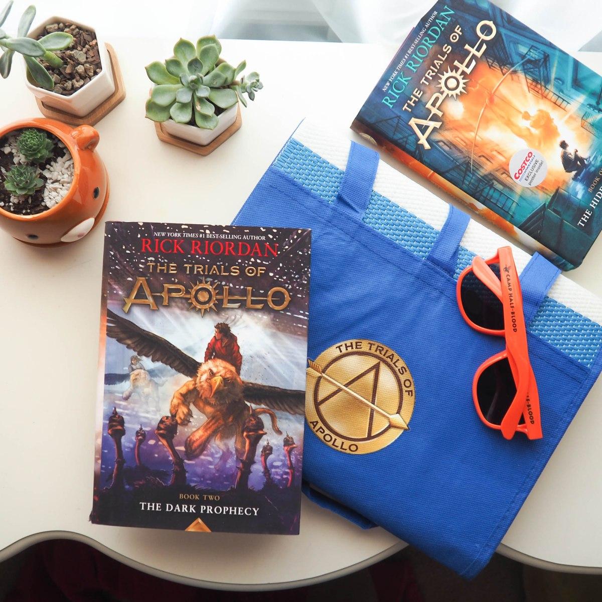 Six Summer Essentials (+ Trials of Apollo GIVEAWAY!!)