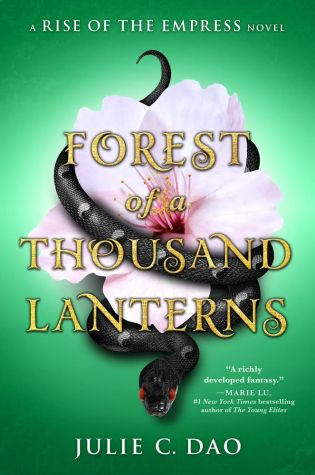 Julie Dao's Writing Starter Pack // Forest of a Thousand Lanterns Blog Tour + GIVEAWAY
