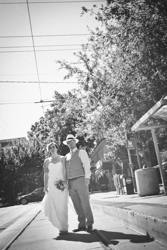 Ashely + Michael's Urban Studio and Inn at Northrup Station Wedd