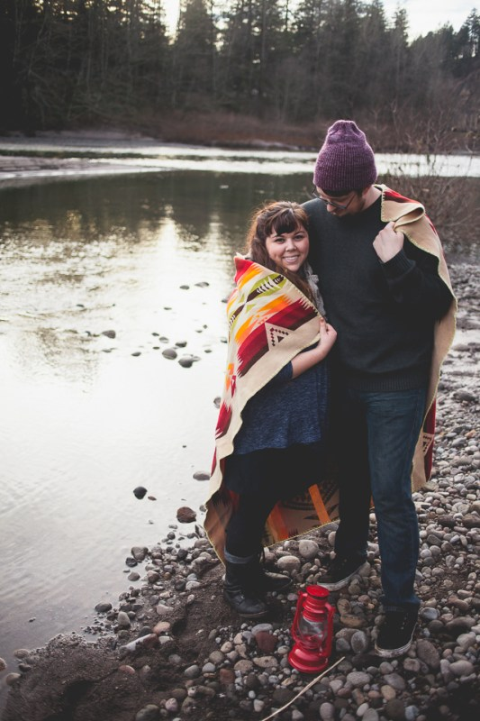 Katrina + John Dabney State Park, Sandy River Engagement