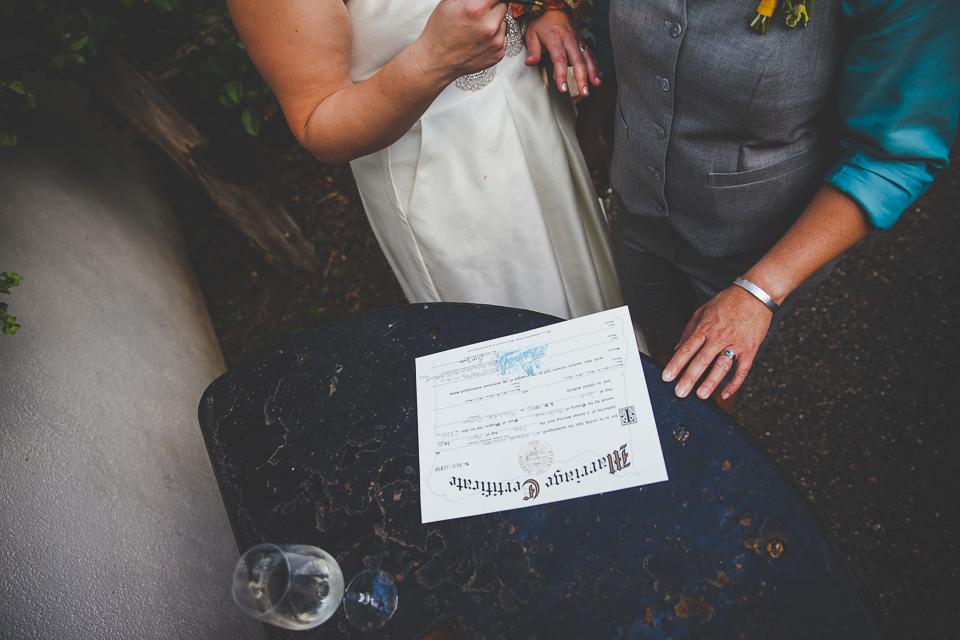 Kathleen + Kate | Edgefield Blackberry Hall Wedding