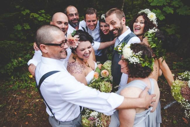 Keeley + Bryce's Camp Lane Camping Wedding