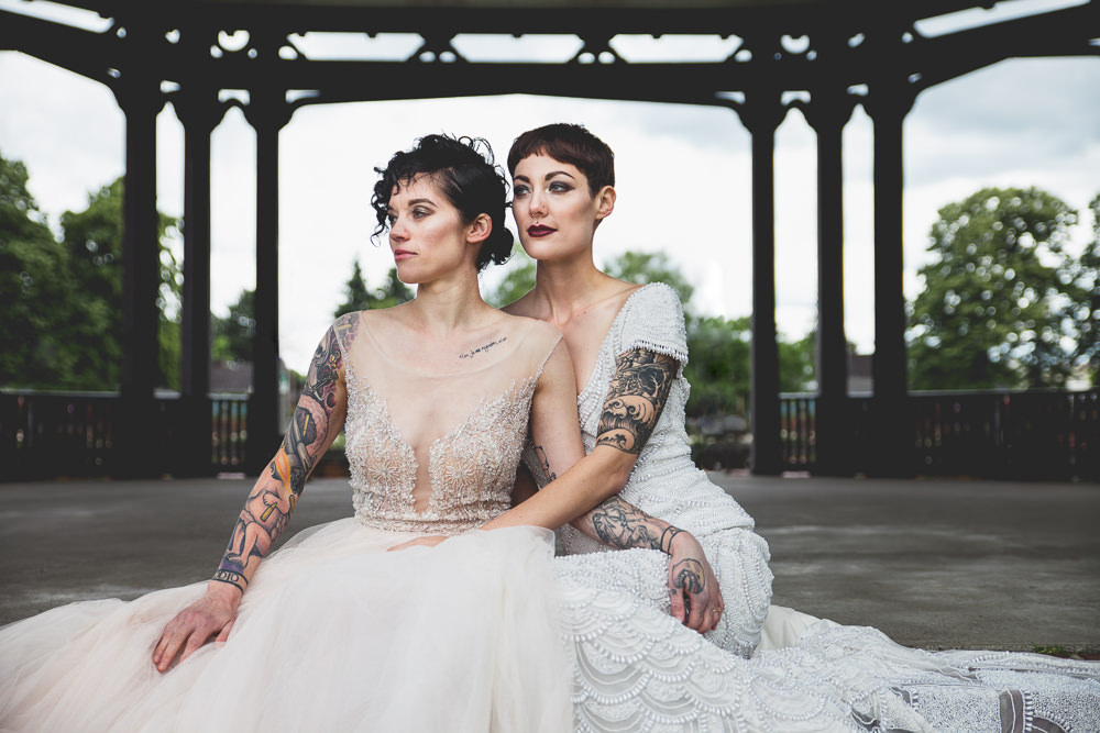 Unusual Lesbian Wedding Gowns Pictures Inspiration - Images for ...