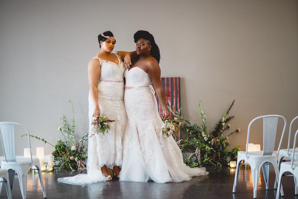 WOC Styled Wedding Shoot