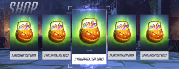 Overwatch's timed seasonal events pressure gamers to get items before they dissapear