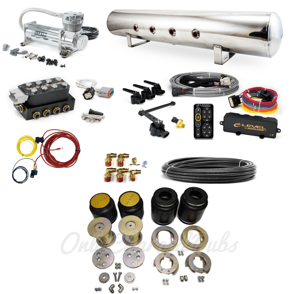 medium resolution of home air suspension systems mercedes w123 accuair elevel stage 3 air suspension system mercedes w123
