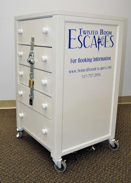 Portable Escape Game Cart