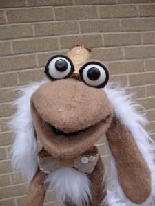 My muppet style puppet