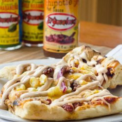 Grilled Mexican Chipotle Pizza | Twisted Tastes