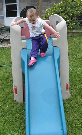 Yea! A Slide!