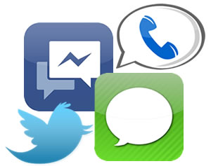 Carrier SMS Messaging Clip Art