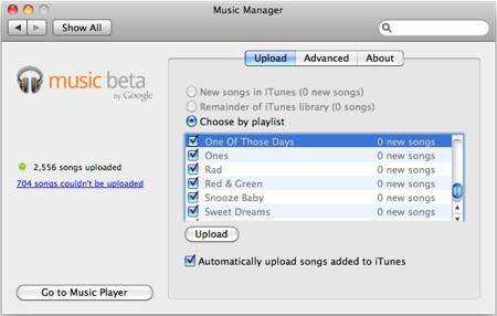Google Music Uploader Mac