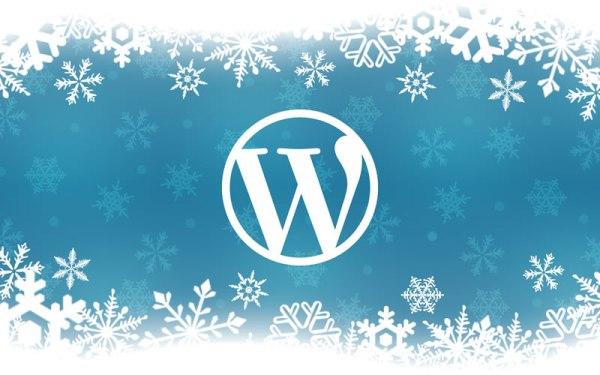 WordPress Snowflake Small