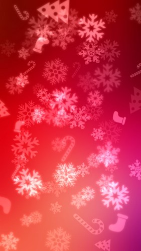 iOS7 Red Christmas