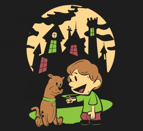 Shaggy and Scooby - Scooby Doo