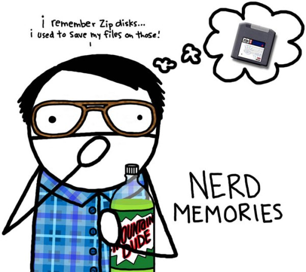 Nerd Memories - Zip Disks