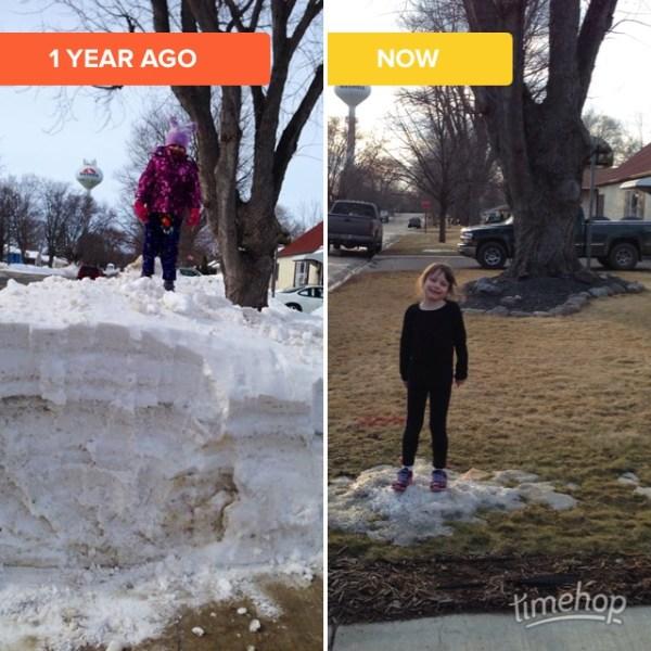 2014/2015 Snow Comparison