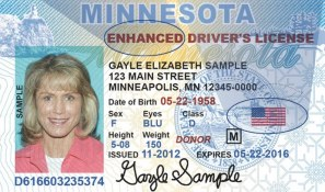 enhanced MN drivers license