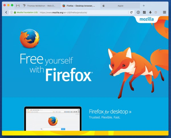 aFox Mac Firefox Theme