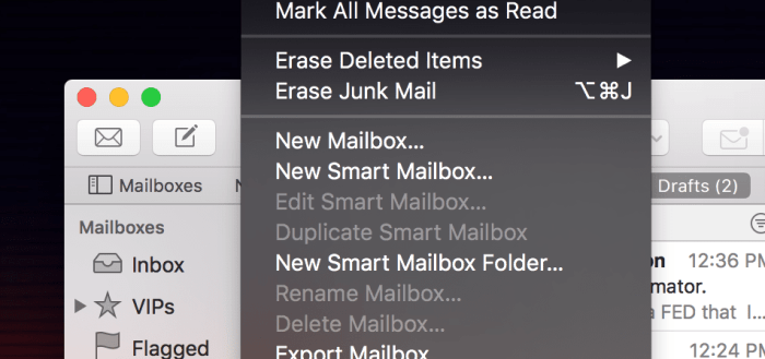 Apple's Mail