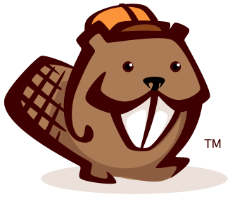It's a beaver with a hat.