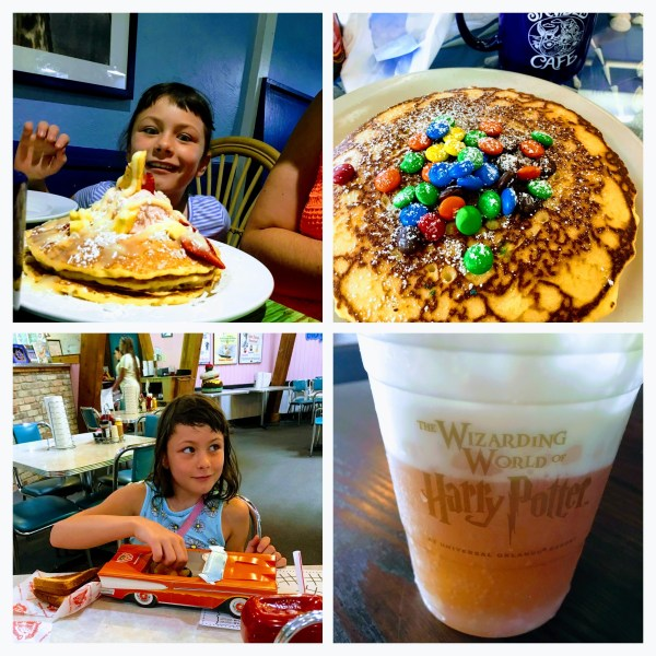 M&M Pancakes, Butterbeer