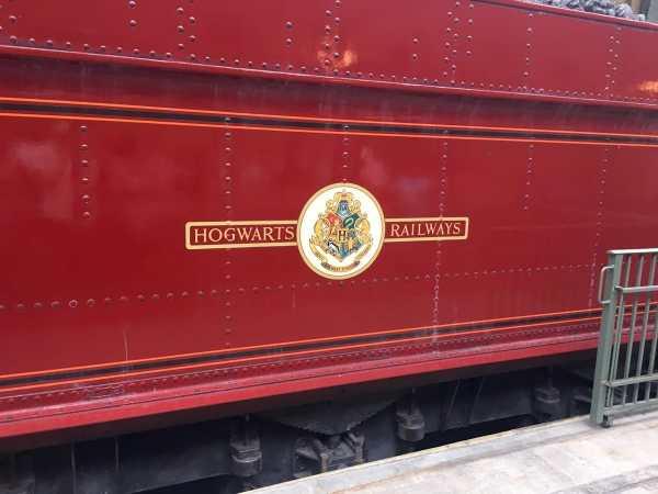 Hogwarts Railways Train Car
