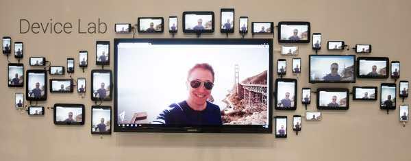 Google Device Lab