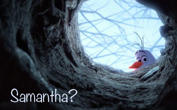 Olaf - Samantha Wallpaper - Frozen 2