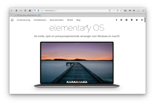 elementary OS Firefox Theme Screenshot